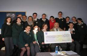The Action Week organising committee making   various donations to nominated charities.